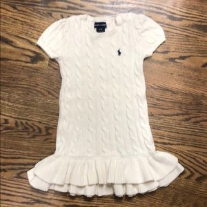 b6df1fdb4a7 Ralph Lauren Short-sleeve Sweater Dress.  15  68. Size  4T (Girl) ...